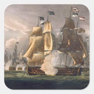 岬St.ヴィンチェンツォ、1797年2月14日の戦い 正方形シール