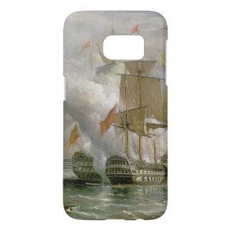 岬St.ヴィンチェンツォ、1797年2月14日の戦い Samsung Galaxy S7 ケース