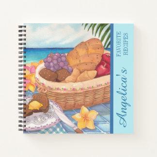 島のカフェ-コンチネンタル・ブレックファーストのレシピ ノートブック