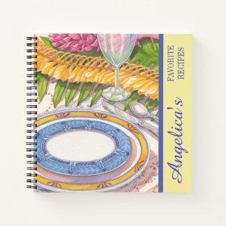 島のカフェ-ショウガのレイのレシピ ノートブック
