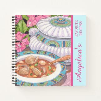 島のカフェ-スープはレシピに役立ちます ノートブック