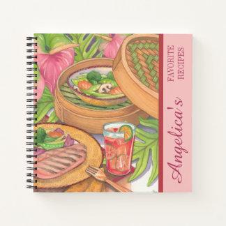 島のカフェ-タケ汽船のレシピ ノートブック