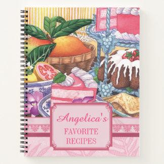 島のカフェ-デザートのレシピ ノートブック