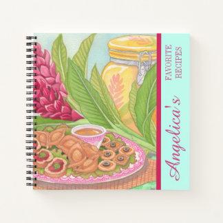 島のカフェ-前菜のレシピ ノートブック