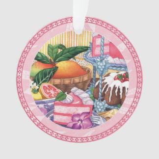 島のカフェ- Guavaのシフォンのデザート オーナメント