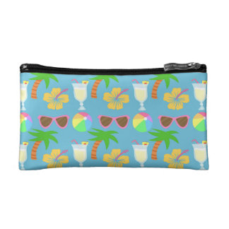 島の休暇 コスメティックバッグ