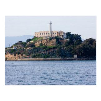 島の刑務所、Alcatraz ポストカード