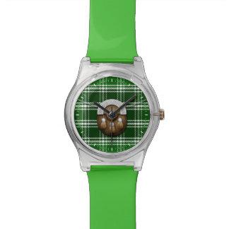 島の古代タータンチェックのSporranの一族MacDonald 腕時計