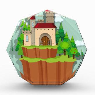 島の城 表彰盾