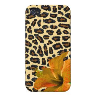 島の女の子のヒョウ iPhone 4 COVER