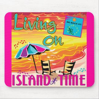 島の時間の生存 マウスパッド