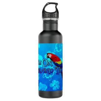 島の時間オウム ウォーターボトル