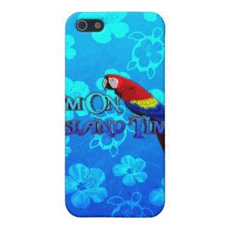 島の時間オウム iPhone 5 カバー