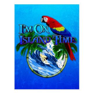 島の時間サーフィン ポストカード