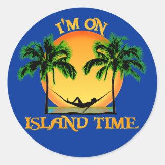 島の時間 ラウンドシール