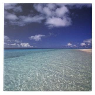 島の景色、Vava'uの島、トンガ2 タイル
