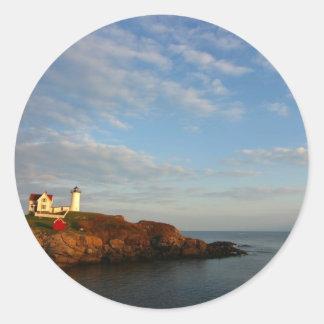 島の灯台 ラウンドシール