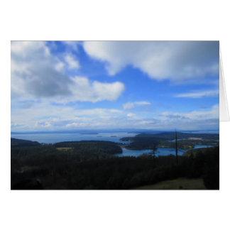 島の眺め カード