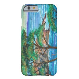 島の絵画のiPhone6ケース Barely There iPhone 6 ケース