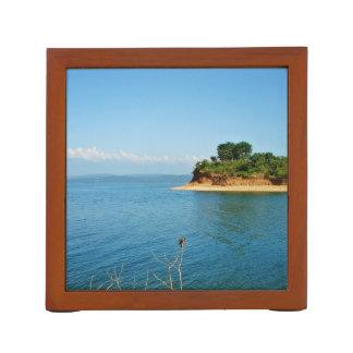 島の美しい眺め ペンスタンド