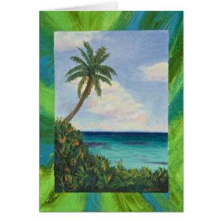 島の美しい カード