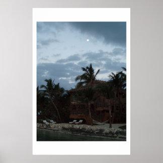 島のMoonrise ポスター