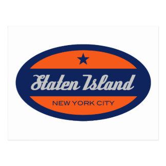 島を*Staten ポストカード