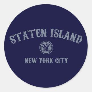 島を*Staten ラウンドシール