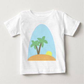 島場面2 ベビーTシャツ