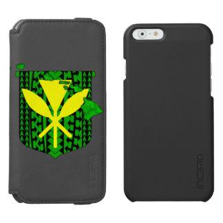 島種族のKanaka Maoli Incipio Watson™ iPhone 6 財布ケース