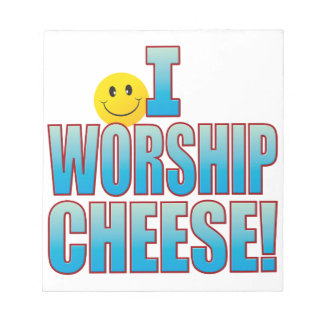 崇拝のチーズ生命B ノートパッド