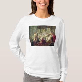 崇拝の対象となる物質に犠牲になるJeroboam 1752年 Tシャツ
