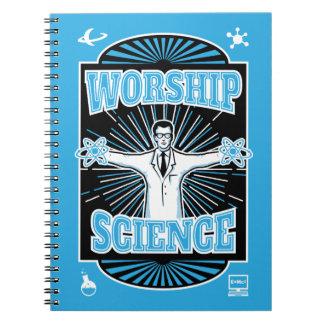 崇拝科学のスローガン ノートブック
