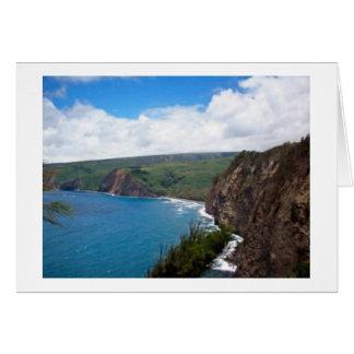 崖からの眺め カード