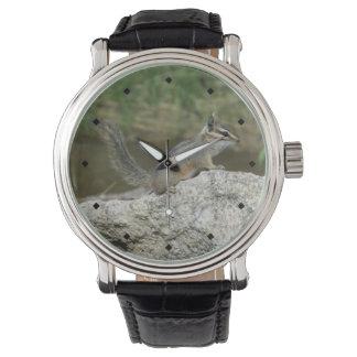 崖のシマリス 腕時計