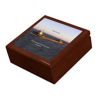 崖の勝利の記念品箱 ギフトボックス