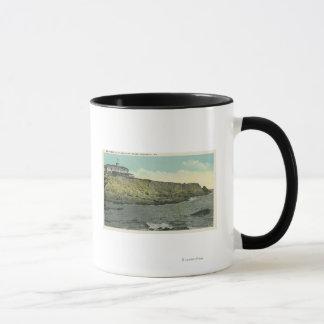 崖の家の禿げ頭の崖そして外面# マグカップ