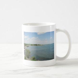 崖の歩行ニューポートロードアイランド コーヒーマグカップ