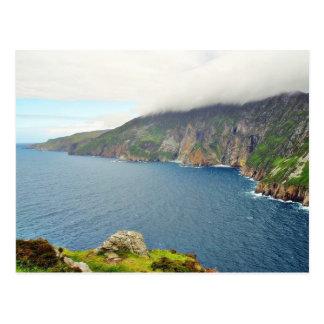 崖アイルランド ポストカード