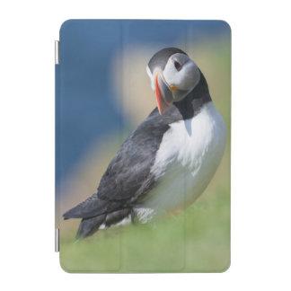 崖2のニシツノメドリ(Fratercula Arctica) iPad Miniカバー