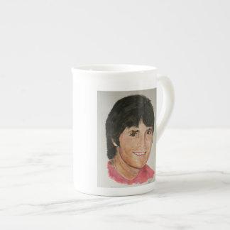 崖 ボーンチャイナカップ
