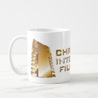 崖-ロゴの公式のマグ コーヒーマグカップ