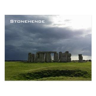 嵐およびStonehenge ポストカード