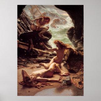 嵐のニンフの洞窟 ポスター