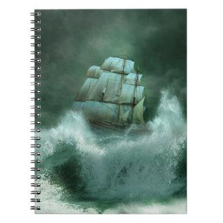 嵐のノートの船 ノートブック