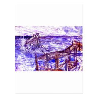 嵐のブライトン ポストカード