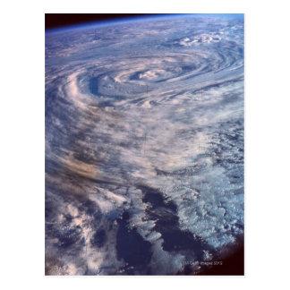 嵐の形成 ポストカード