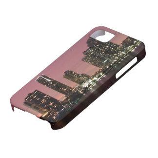 嵐の後のマイアミ上の日没ライト iPhone SE/5/5s ケース