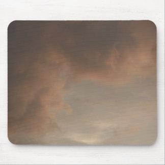 嵐の日没はマウスパッドを曇らせます マウスパッド