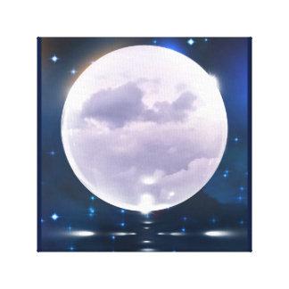 嵐の月 キャンバスプリント